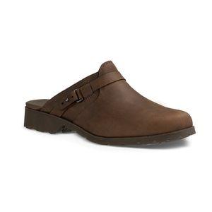 Teva De La Vina Clog Waterproof Leather Clog